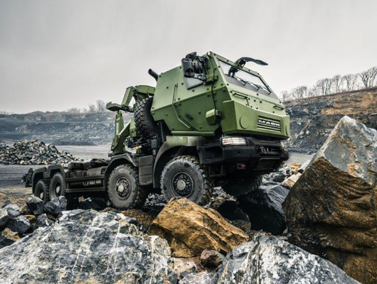 Dumur Partners with Mack Defense on Armored Truck